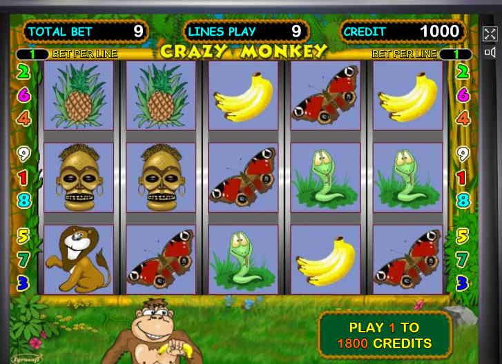 аппараты бесплатно игровые поиграть обезьянки